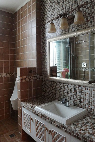Bathroom Porcelain Mosaic Tile